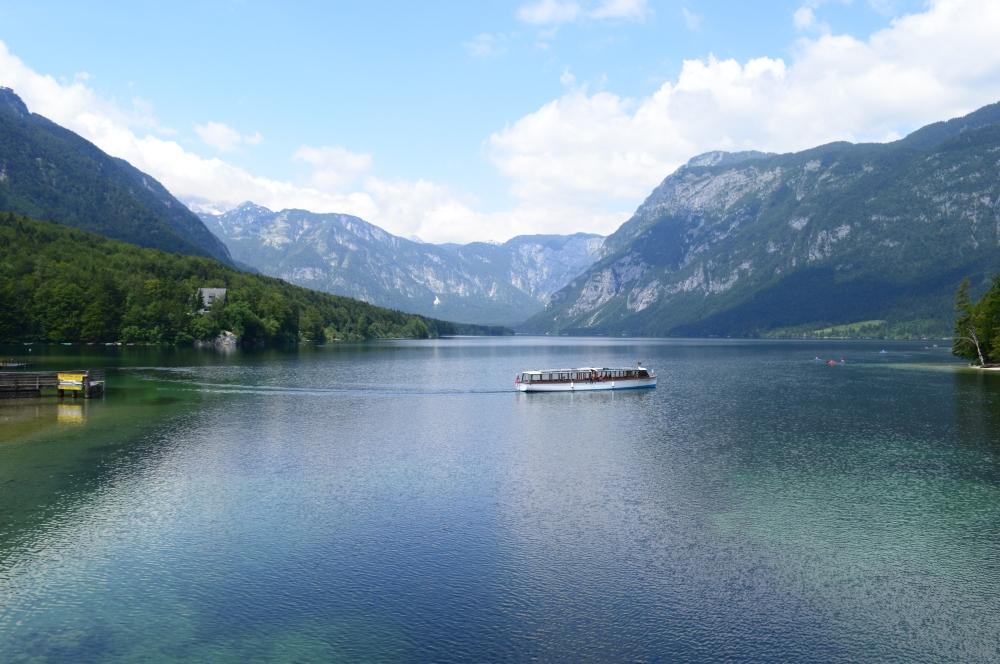 The stunning Lake Bohinj