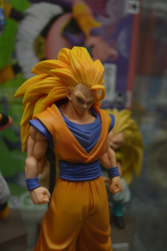 The one and only Goku in the form of Super Saiyan 3.
