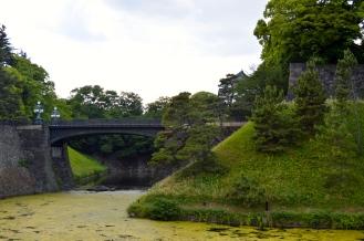 The original Nijubashi - rebuilt in Iron