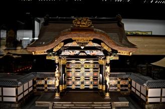 scale model shrine replica