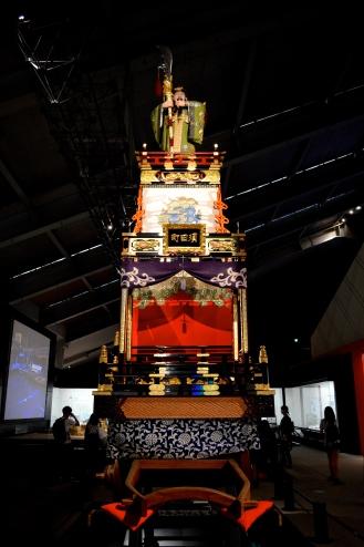 Dasha float of Kanda Myojin used in Japanese parades.