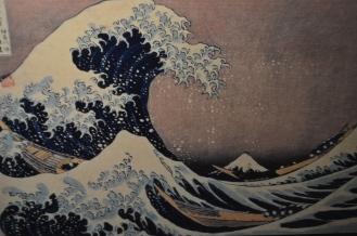 The Great Wave off Kanagawa - part of the woodblock print series - 36 views of Mount Fuji.
