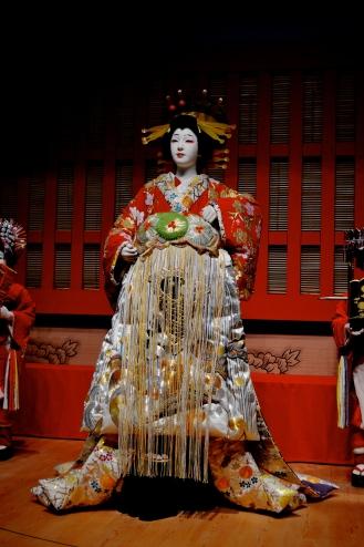 models from the famous kabuki play Sukeroku.