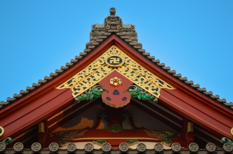 Although Japan were allies with Germany in WW2 this particular symbol has no relevance to fascism or anti-semitism. In fact it means quite the polar opposite - in ancient sanskrit it denotes 'peace and happiness' and has been used by hindus and buddhists for centuries. In modern Japan it's used to locate buddhist temples on maps. With the 2020 olympics coming up, there is now a debate whether this should be the case as tourists could quite easily get confused/be offended.