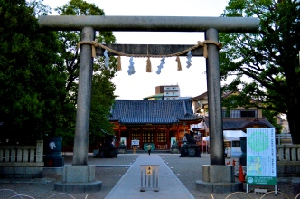 Asakusa-jinja, a shrine built in honour of the brothers who discovered the Kannon statue that inspired the construction of Sensō-ji. There's 2 things I love about this shot. One is the serenity and the other is the near perfect composition.
