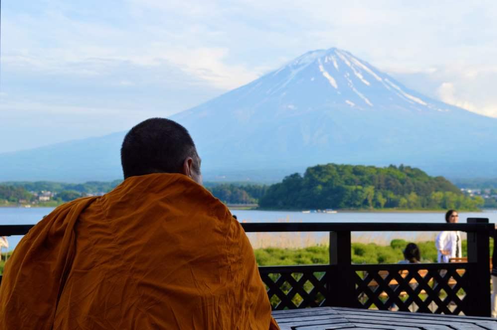 Monk Mount Fuji Japan 2JPG