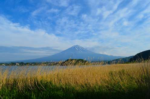 It's considered one of the 3 holy mountains along with Mount Tate and Mount Haku.