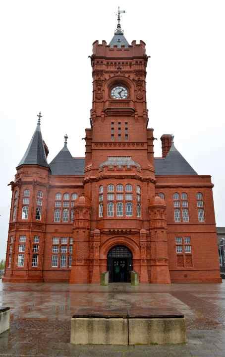 Pierhead Building, built in 1897