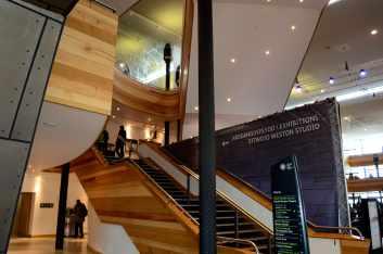 Inside Wales Millennium Centre